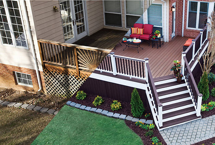 See what a new deck can do to your backyard? At Michigan's Best Deck Builders we can help make your deck dreams a reality.